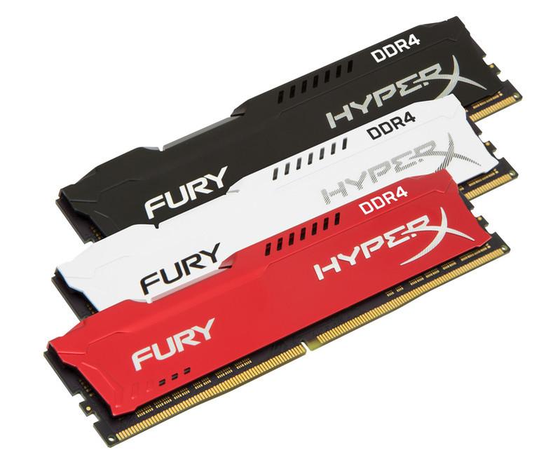 Новинка! Лінійка сучасних модулів оперативної пам'яті Kingston HyperX FURY DDR4