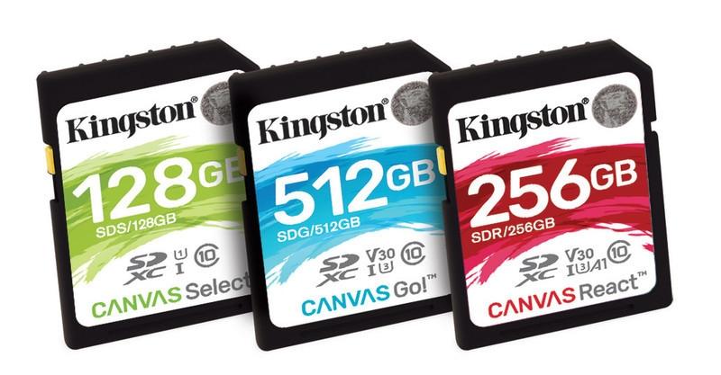 карти пам'яті SD виробництва Kingston