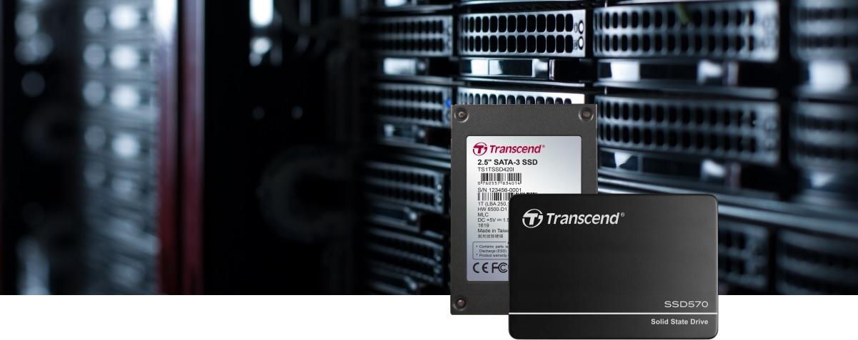 SSD промислового класу виробництва Transcend