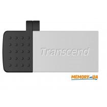 Transcend 64GB USB 2.0 OTG JetFlash380 Silver Plating