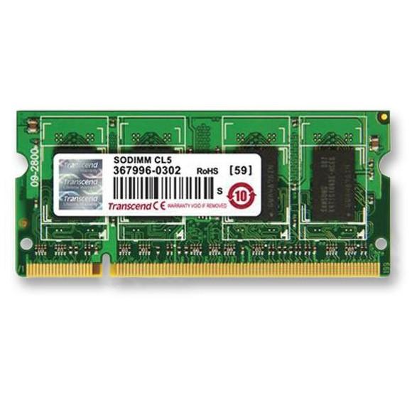 Оперативна пам'ять для ноутбуку DDR2 SODIMM 2ГБ 667МГц Промислового класу (TS256MSQ64V6U-I)