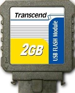 Модуль флеш-пам'яті (вертикальний) Transcend 2GB USB SLC Промислового класу (TS2GUFM-V)