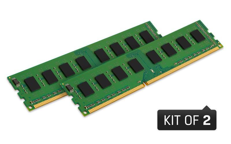 Оперативна пам'ять DDR3 Non-ECC UDIMM 16GB 1600MHz (KVR16N11K2/16)