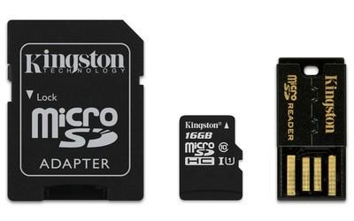 Комплект картка пам'яті з адаптерами (MBLY10G2/16GB)