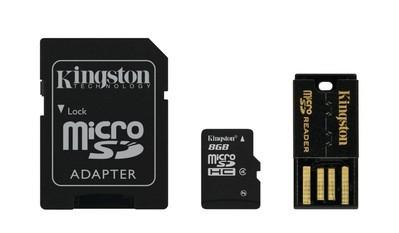 Комплект картка пам'яті з адаптерами (MBLY4G2/8GB)