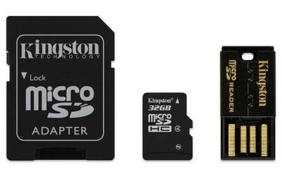 Комплект картка пам'яті з адаптерами (MBLY4G2/32GB)