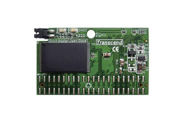 Модуль флеш-пам'яті (горизонтальний) Transcend 2ГБ IDE 44PIN SLC з SMI Промислового класу (TS2GDOM44H-S)