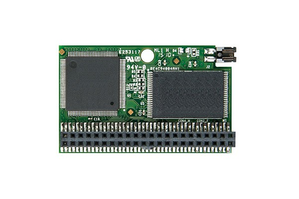 Модуль флеш-пам'яті (горизонтальний) Transcend 2ГБ IDE 44PIN SLC з SMI Промислового класу (TS2GPTM820)