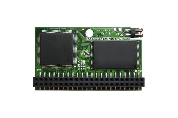 Модуль флеш-пам'яті (горизонтальний) Transcend 512МБ IDE 44PIN SLC з SMI Промислового класу (TS512MPTM820)