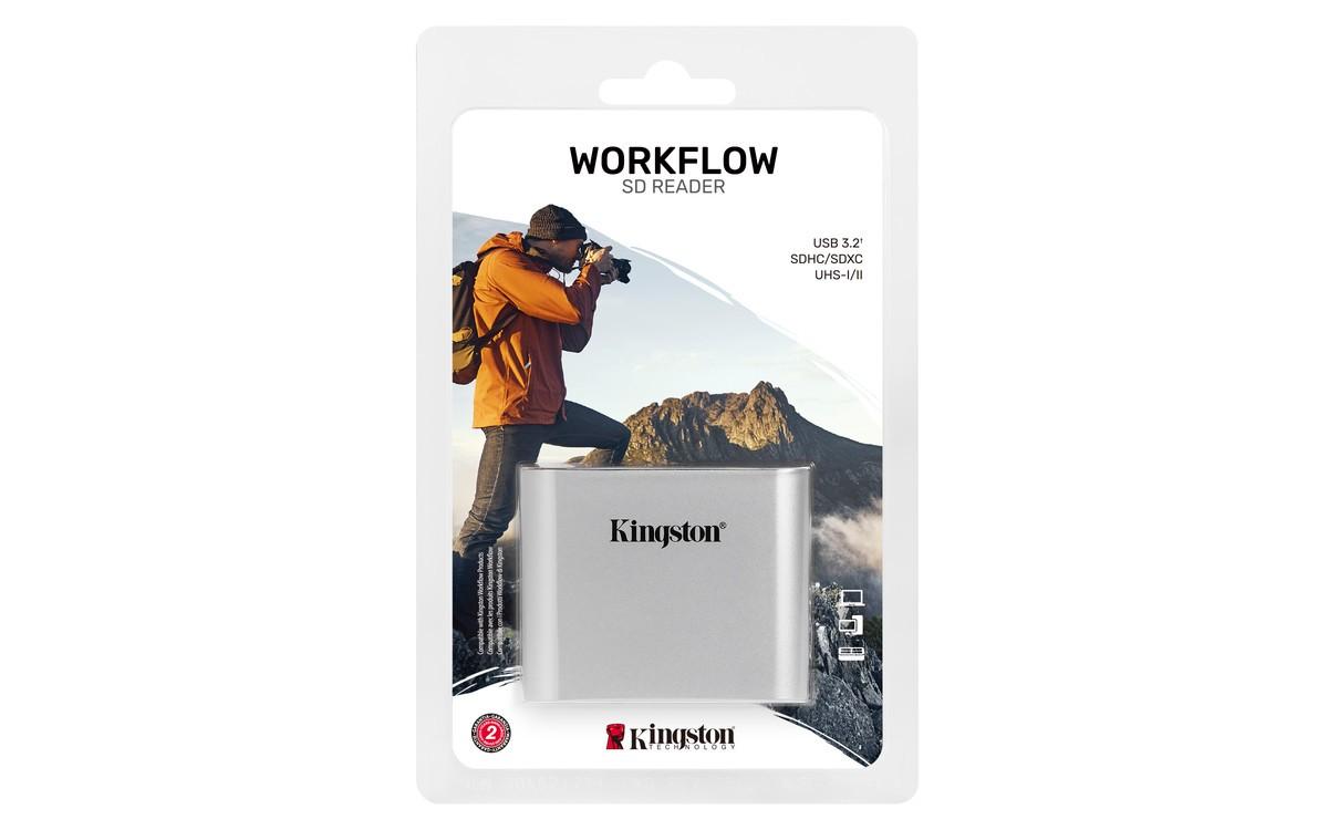 Зчитувач SD карток Kingston Workflow WFS-SD
