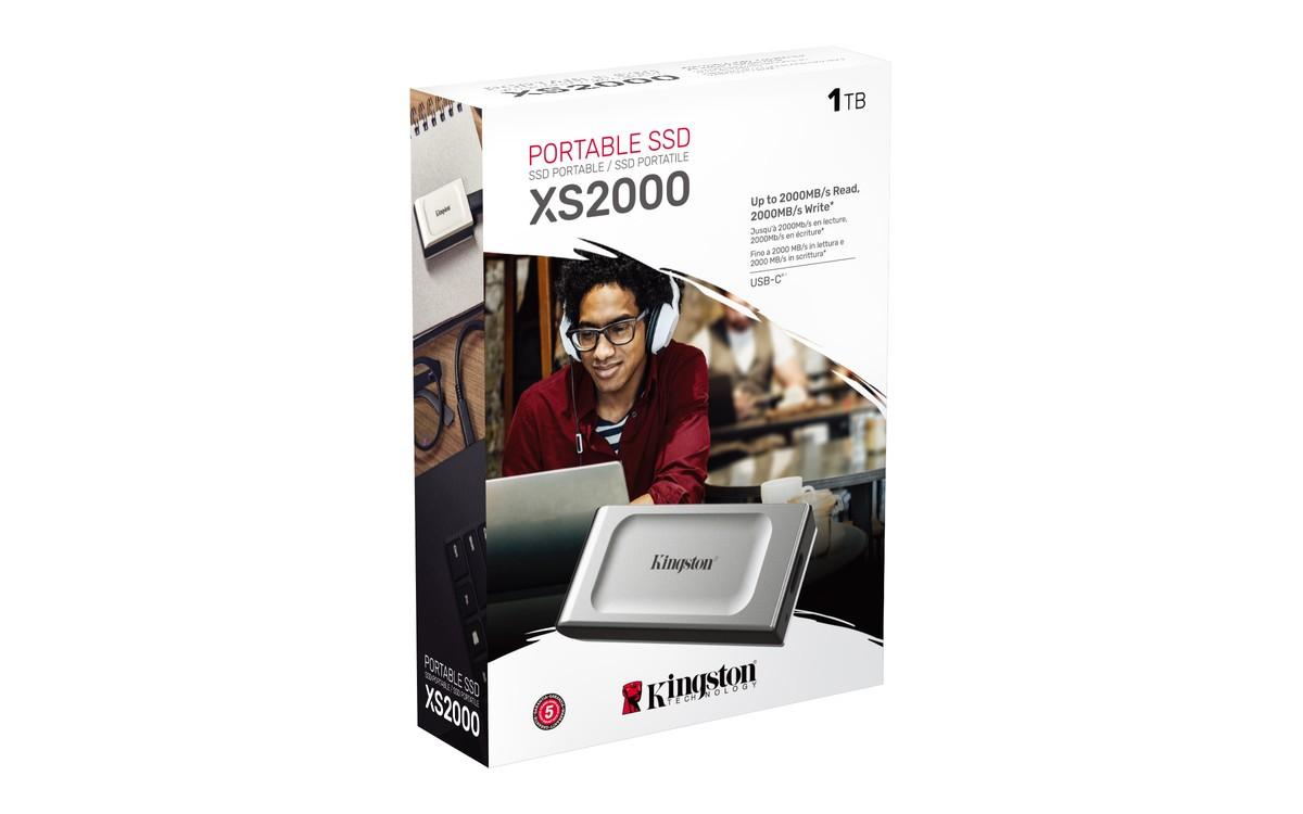 Зовнішній SSD накопичувач Kingston USB Type-C 1TB SXS2000/1000G