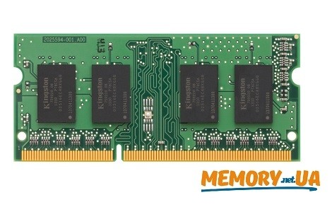 Оперативна пам'ять DDR3 SODIMM 8GB 1600MHz  (KCP316SD8/8)