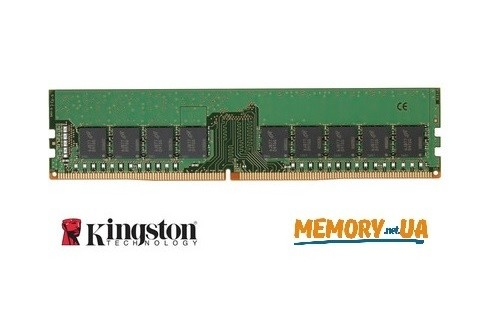 Оперативна пам'ять DDR4 ECC UDIMM 16ГБ (KVR24E17D8/16)