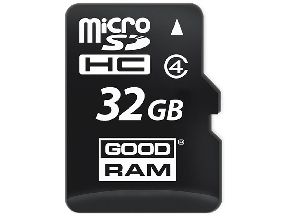 Картка пам'яті microSD GOODRAM 32ГБ MLC 0°C~70°C (SDU32GCMGRB)