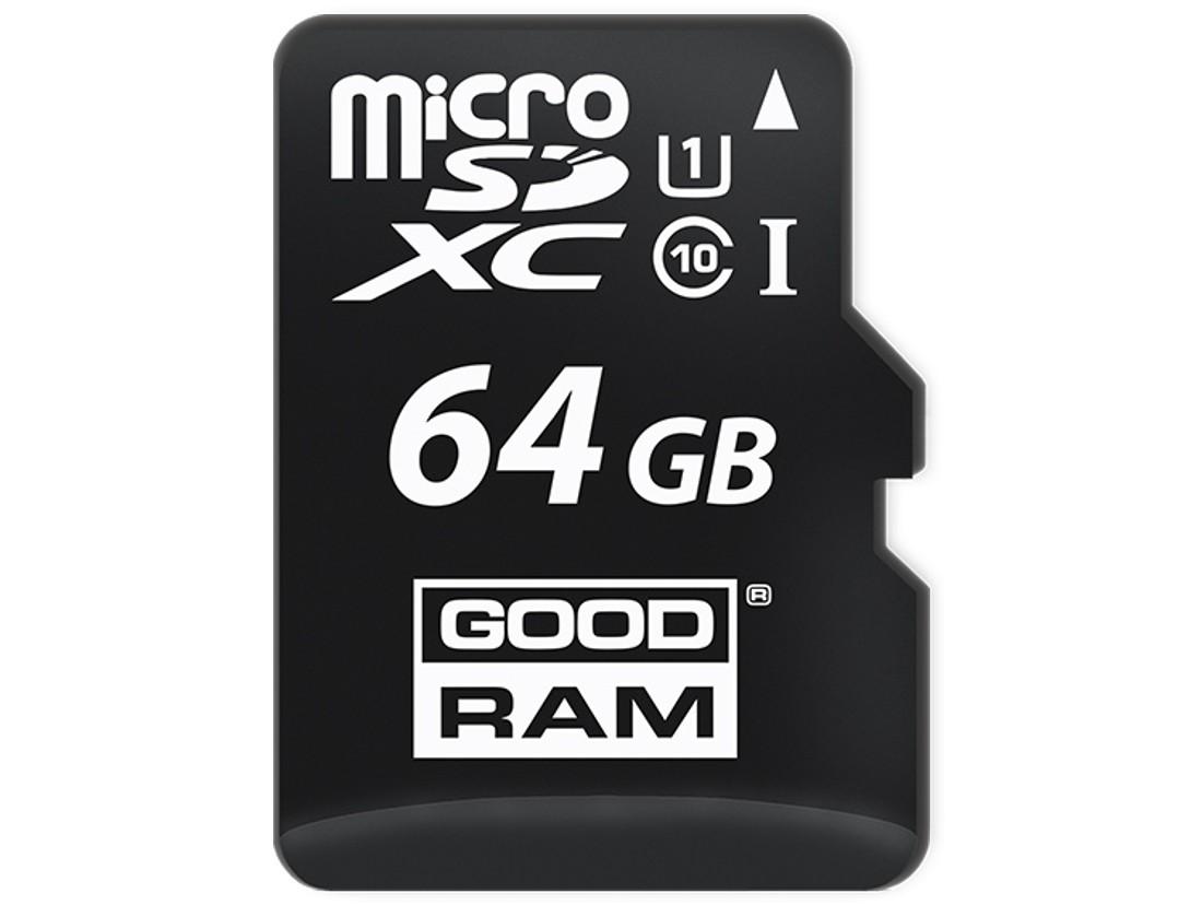 Картка пам'яті microSD GOODRAM 64ГБ MLC -40°C~85°C (SDU64GDMGRB)