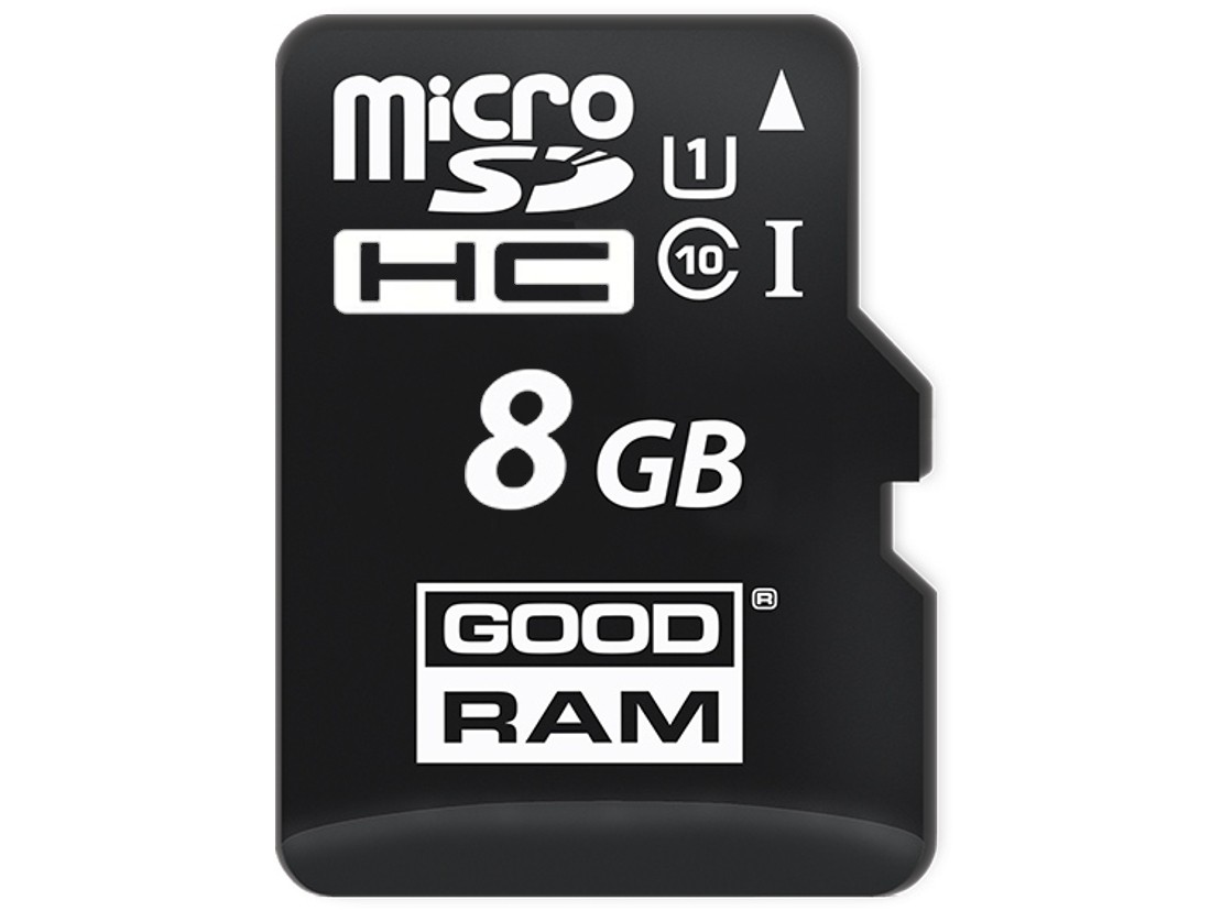 Картка пам'яті microSD GOODRAM 8ГБ MLC -40°C~85°C (SDU8GDMGRB)