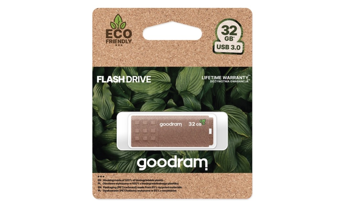 Флеш-накопичувач GOODRAM Eco Friendly 32ГБ USB3.0 - UME3-0320EFR11