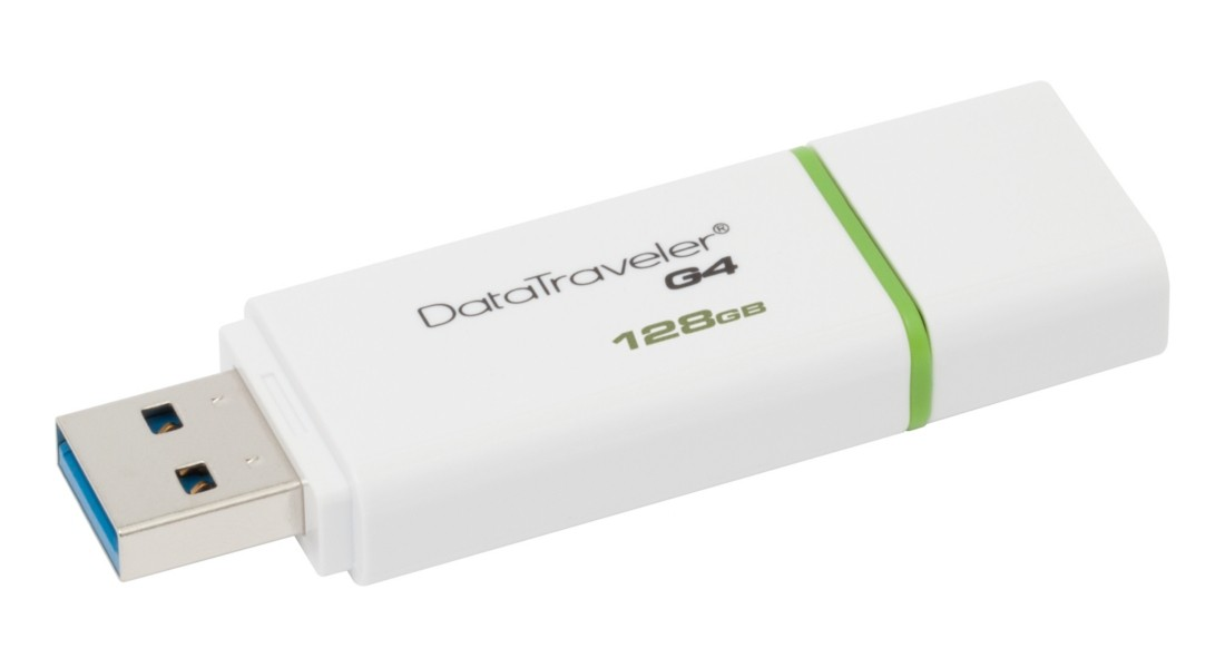 Флеш-накопичувач Kingston DataTraveler G4 128ГБ USB 3.0 (DTIG4/128GB)