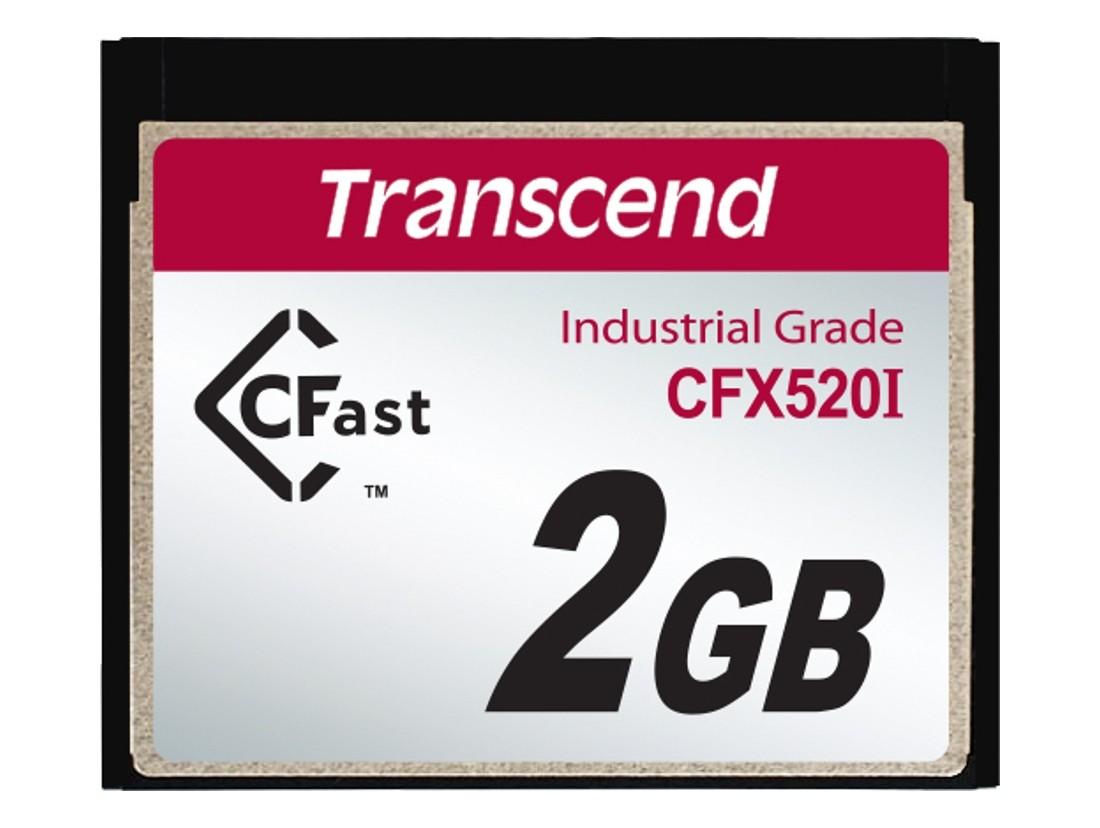Картка пам'яті Transcend 2GB CFast 1.1 SLC Промислового класу (TS2GCFX520I)