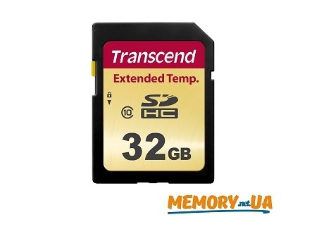Карта пам'яті TS32GSDC520I - Transcend Industrial 32GB SDHC520I MLC Extended Temp
