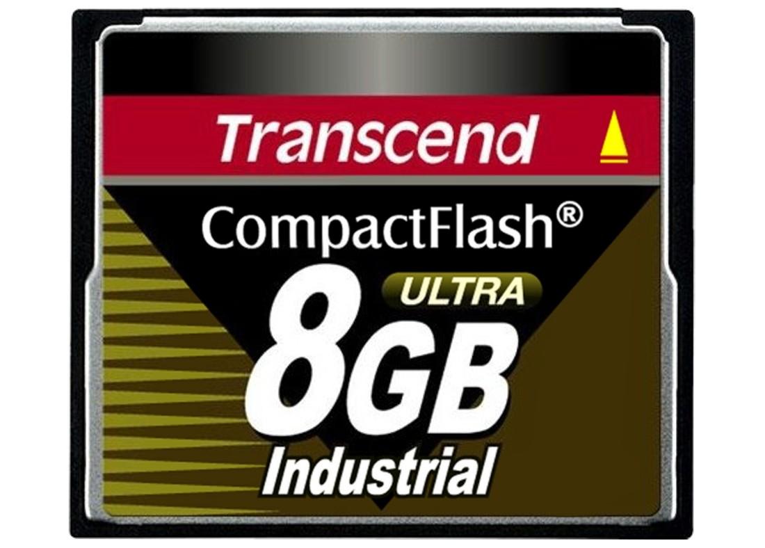 Картка пам'яті Transcend CF100I 8ГБ 100X SLC Промислового класу (TS8GCF100I)