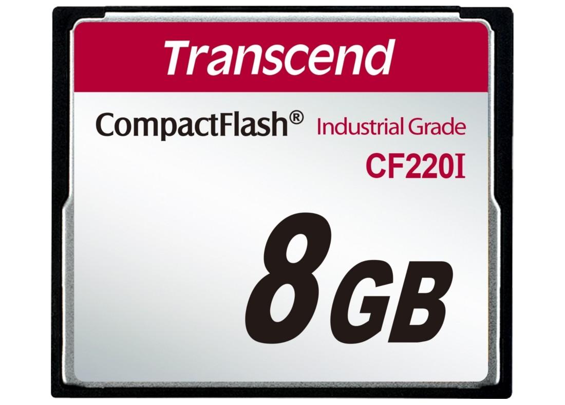 Картка пам'яті Transcend CF220I 8ГБ 220X SLC Промислового класу (TS8GCF220I)