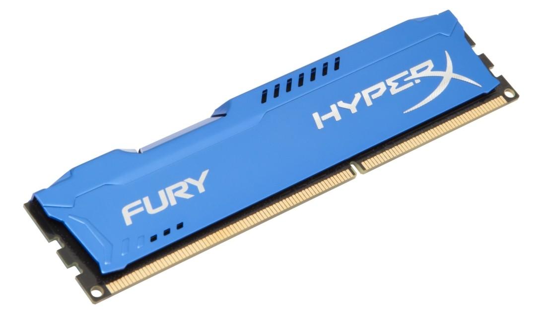HyperX FURY Оперативна пам'ять 4GB DDR3−1600MHz DIMM (HX316C10F/4)