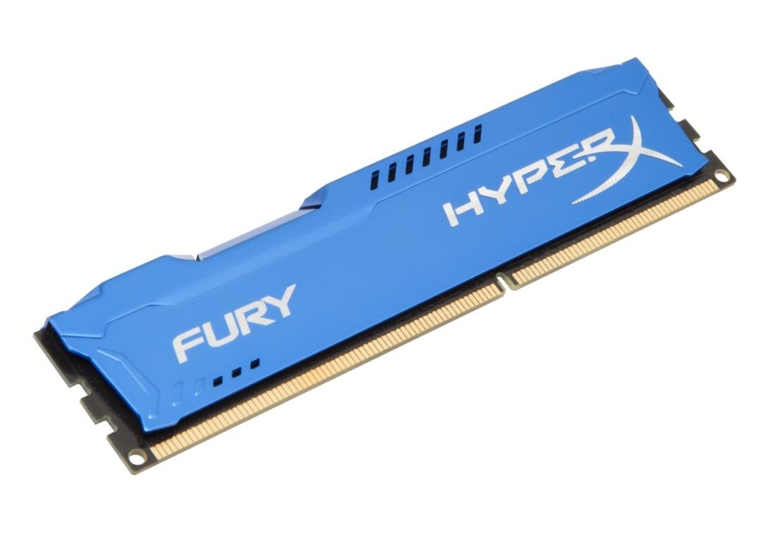 HyperX FURY Оперативна пам'ять 8GB DDR3−1866MHz DIMM (HX318C10F/8)