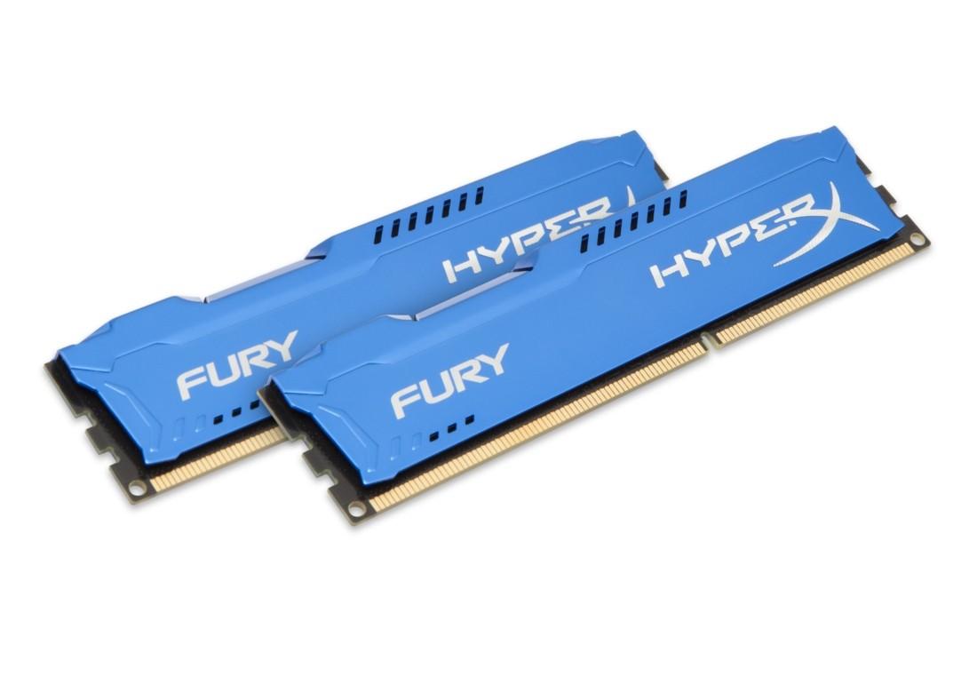 HyperX FURY Оперативна пам'ять 16GB DDR3−1866MHz DIMM (HX318C10FK2/16)