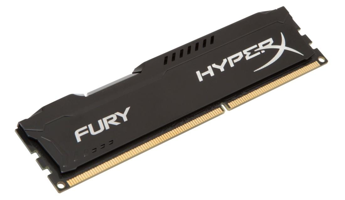 HyperX FURY Оперативна пам'ять 4GB DDR3−1600MHz DIMM (HX316C10FB/4)