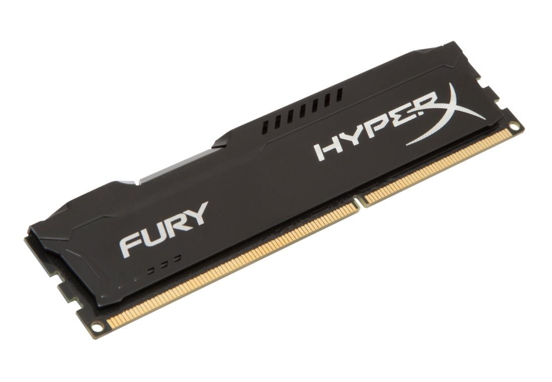 HyperX FURY Оперативна пам'ять 8GB DDR3−1600MHz DIMM (HX316C10FB/8)