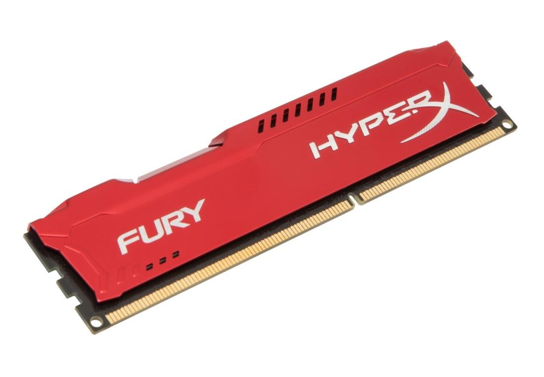 HyperX FURY Оперативна пам'ять 8GB DDR3−1866MHz DIMM (HX318C10FR/8)