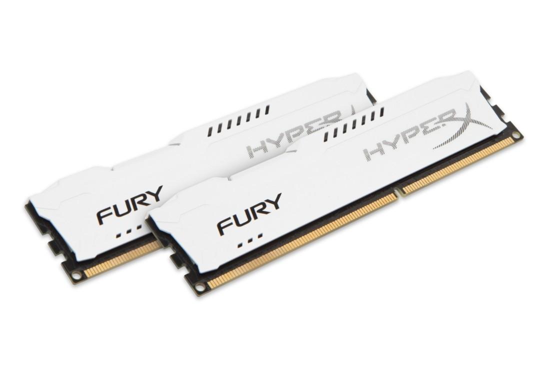 HyperX FURY Оперативна пам'ять 8GB DDR3−1866MHz DIMM (HX318C10FWK2/8)