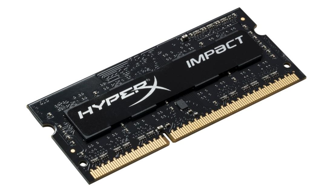 HyperX Impact Оперативна пам'ять 4GB DDR3L−1600MHz SO-DIMM (HX316LS9IB/4)