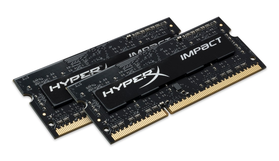 Kingston HyperX Impact 8GB DDR3L SO-DIMM (HX316LS9IBK2/8)