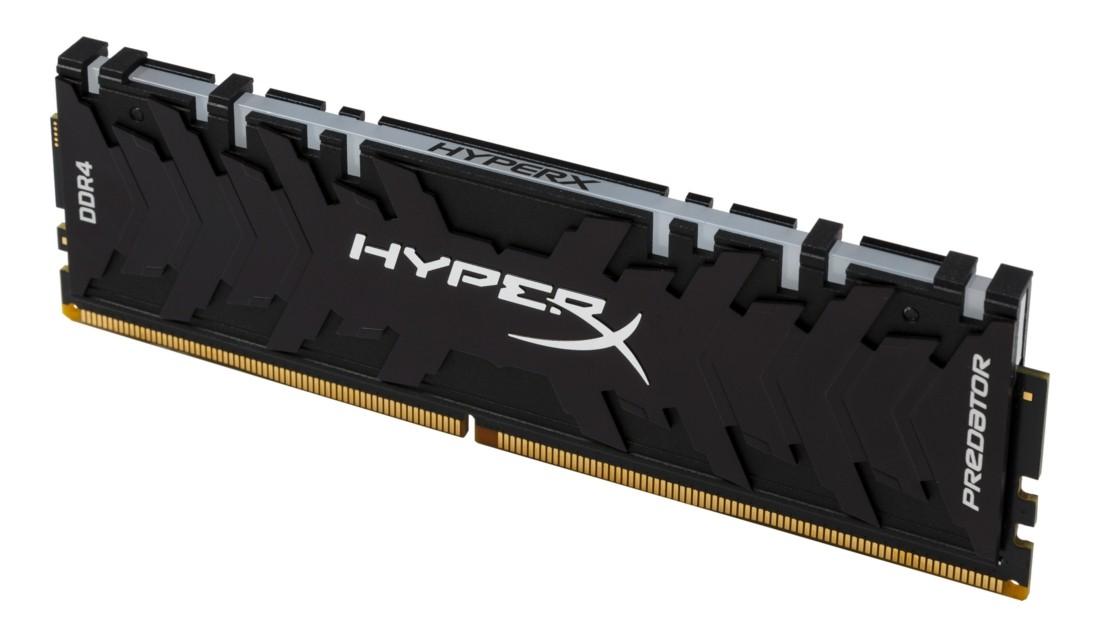 HyperX Predator RGB Оперативна пам'ять 16GB DDR4−3200MHz DIMM (HX432C16PB3A/16)
