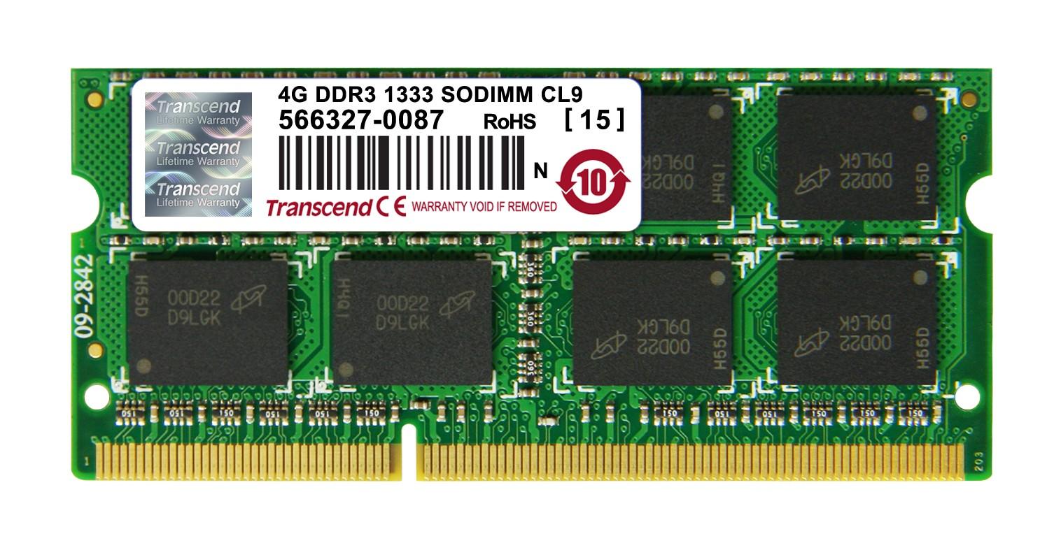 Оперативна пам'ять DDR3 SODIMM 4GB 1333MHz (JM1333KSN-4G)