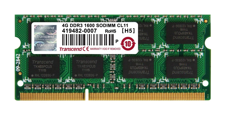 Оперативна пам'ять DDR3 SODIMM 4ГБ 1600МГц (JM1600KSN-4G)