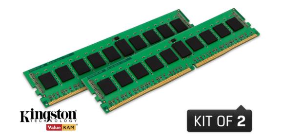 DDR4 Non-ECC UDIMM 32GB 2133MHz (KVR21N15D8K2/32)