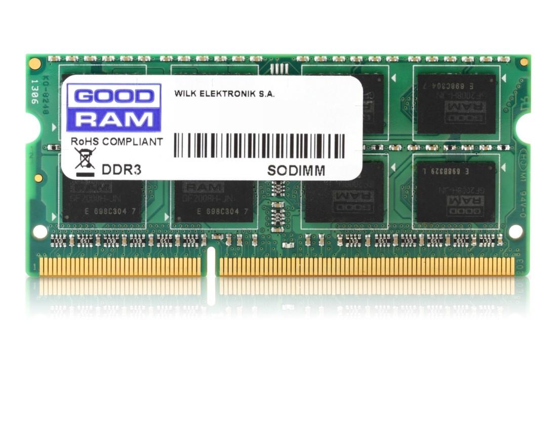 Модуль пам'яті GoodRAM 8ГБ DDR3 1600МГц CL11 SODIMM