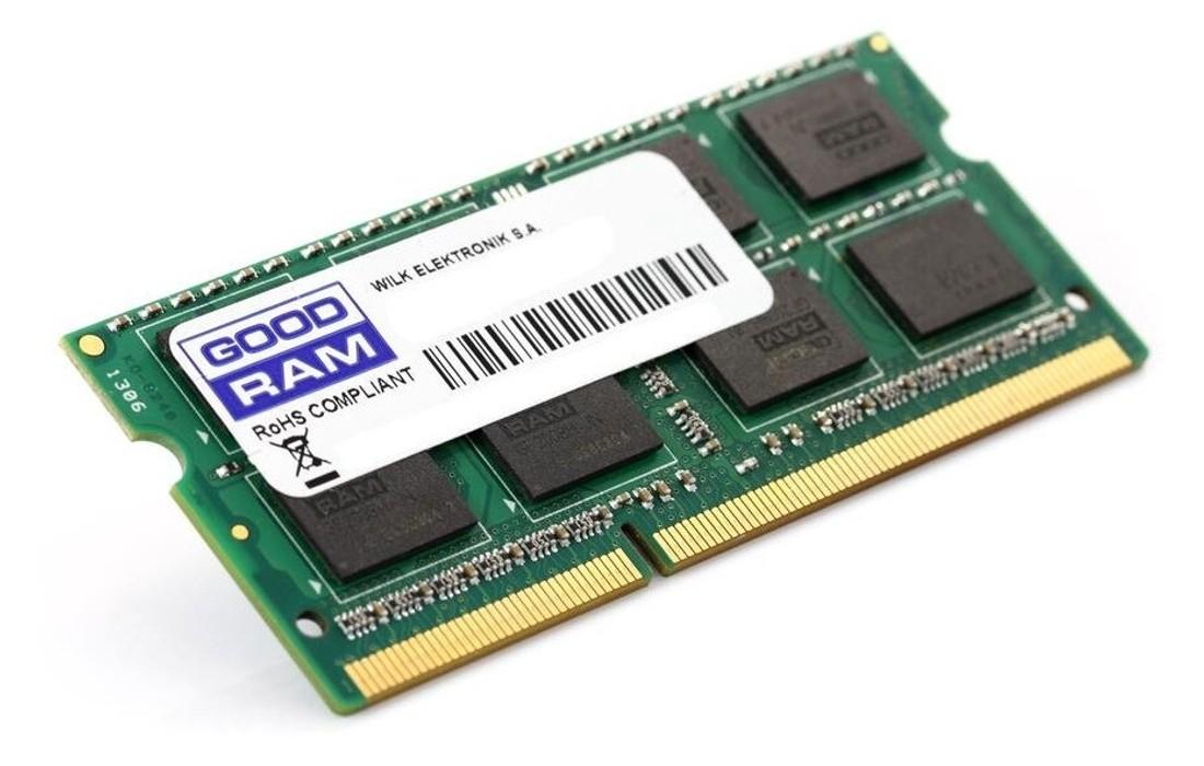 Пам'ять содим GoodRAM 8ГБ DDR3 1600МГц - W-LO16S08G