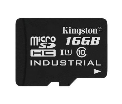 Картка пам'яті Kingston 16ГБ microSDHC Class 10 UHS-I Промислового класу