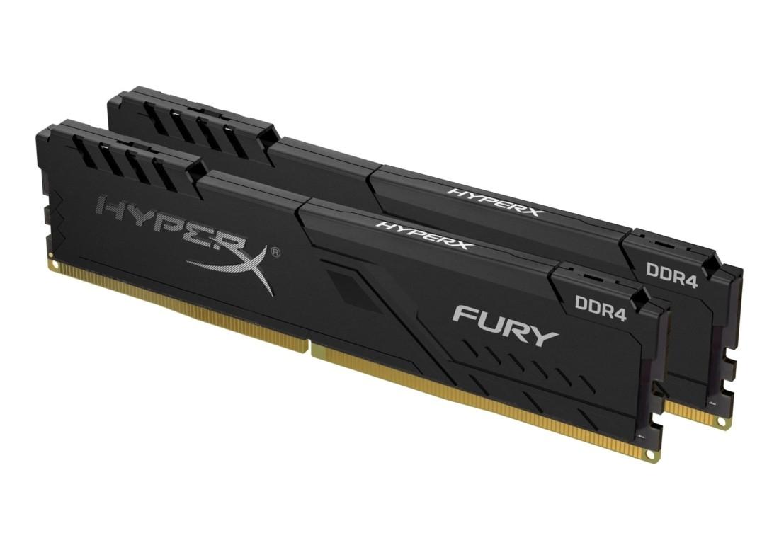 Комплект модулів оперативної пам'яті для ПК Kingston HyperX FURY 32ГБ (Комплект 2x16ГБ) DDR4 3600МГц CL17 DIMM (HX436C18FB4K2/32)