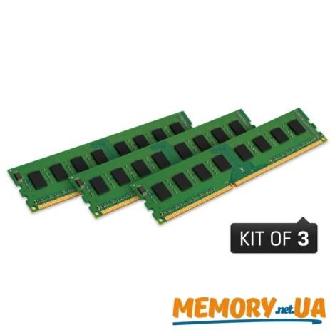 Оперативна пам'ять Kingston 24GB DDR3 DIMM (KVR13N9K3/24)