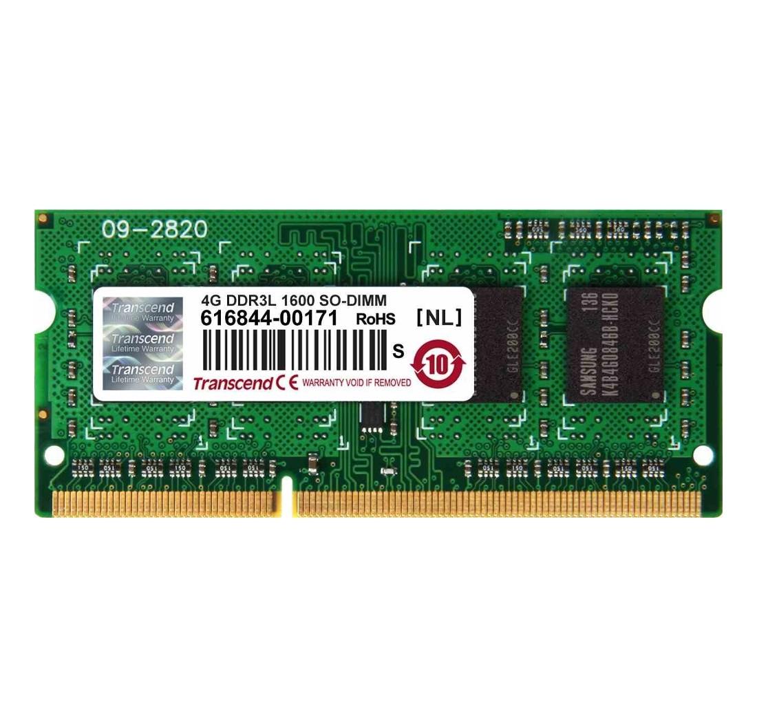 Оперативна пам'ять для ноутбуку DDR3 SODIMM 4ГБ 1600МГц Промислового класу (TS512MSK64W6H-I)