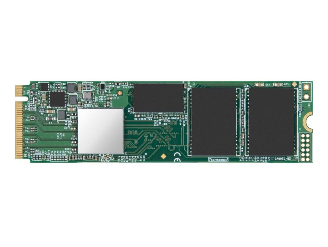SSD накопичувач Transcend® M.2 PCIe NVMe 256ГБ (TS256GMTE550T)