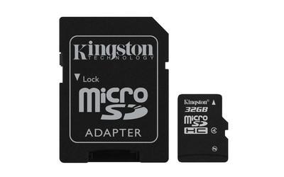 Картка пам'яті Kingston 32ГБ microSDHC (Class 4)
