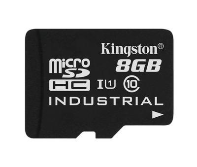 Картка пам'яті Kingston 8ГБ microSDHC Class 10 UHS-I Промислового класу