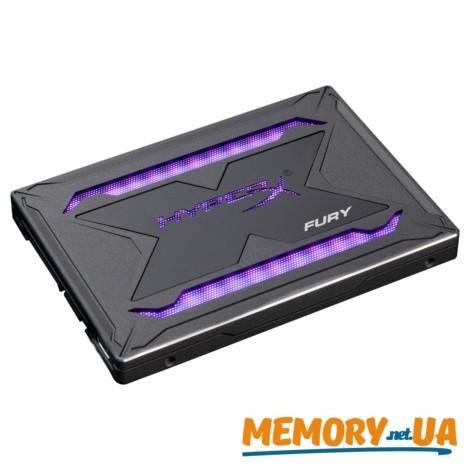 """SSD 2.5"""" HyperX Fury RGB 480GB (SHFR200/480G)"""