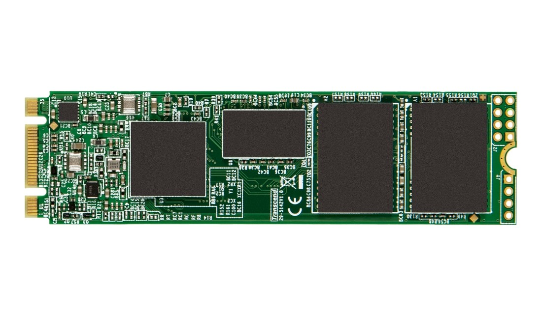 SSD накопичувач Transcend MTS950T-I 128ГБ M.2 SATA III 3D NAND Промислового класу (TS128GMTS950T-I)